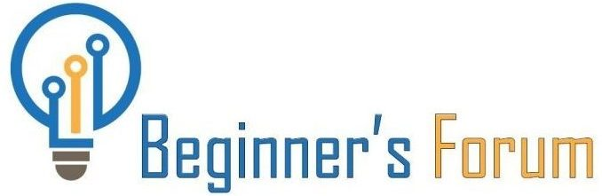 Beginner's Forum